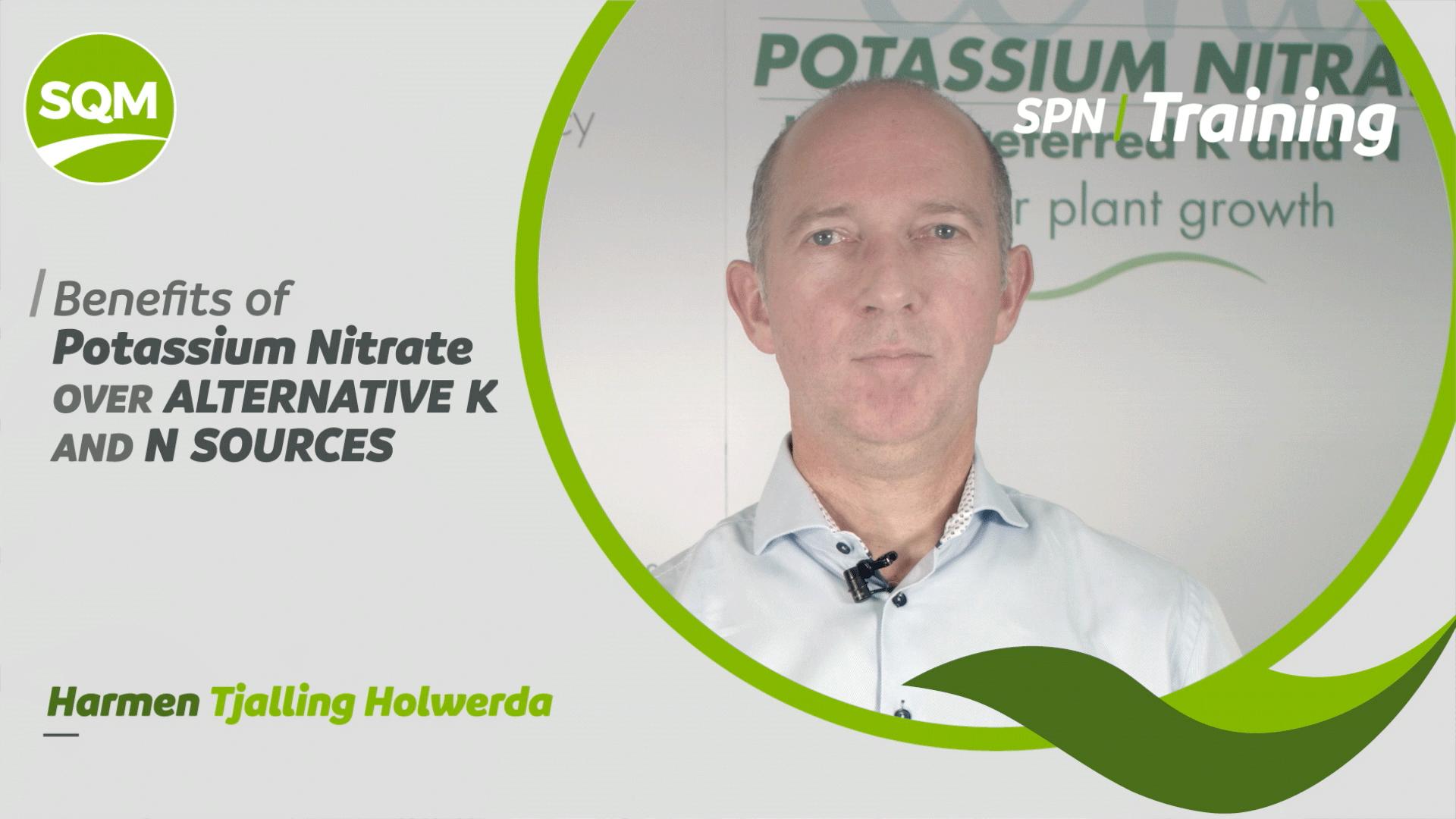 Principales beneficios del nitrato de potasio